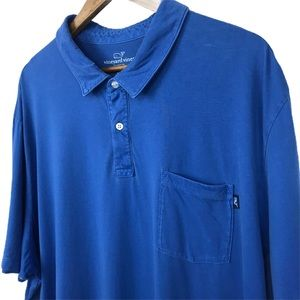 Vineyard Vines Blue Shirt Size XXL